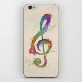 Treble Clef iPhone Skin
