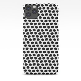 Beehive Black and White iPhone Case