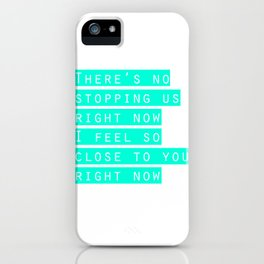 feel so close iPhone Case
