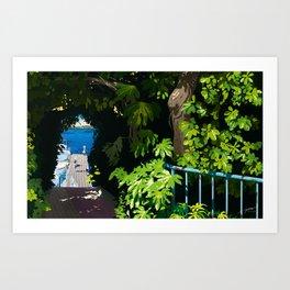 memories of gone summer [Secret Harbor] Art Print