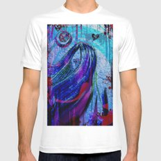 Violet Mens Fitted Tee White MEDIUM