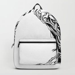 Crooked Tree large Backpack