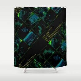 Ghosts Of A Special Sort Seen Shower Curtain