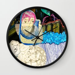 Collage 40 Wall Clock
