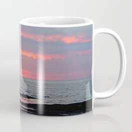 Texture Filled Clouds Coffee Mug