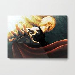 Edward Elric Metal Print