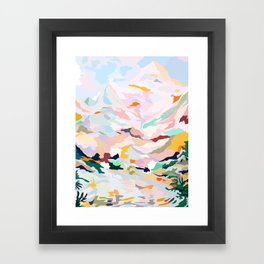 alpine Framed Art Print