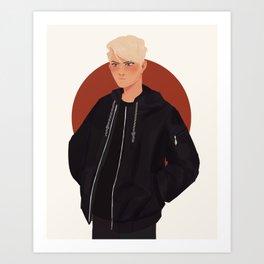 Andrew Minyard fanart Art Print