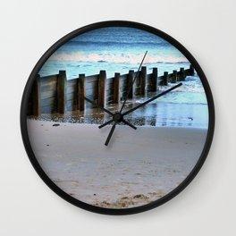 North Sea Views Wall Clock