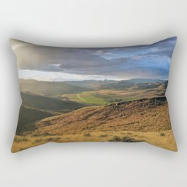 Into The Valley Rectangular Pillow