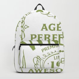 Green-Vintage-Limited-1932-Edition---85th-Birthday-Gift Backpack