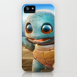 Realistic Squirtle iPhone Case