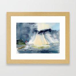 Hope Bay Framed Art Print