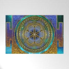 Yantra Mantra Mandala #1 Welcome Mat
