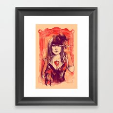 TAKE CONTROL Framed Art Print