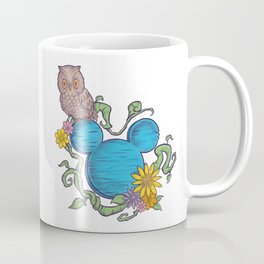 Owl Garden Coffee Mug