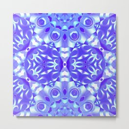 kaleidoscope Flower G65 Metal Print