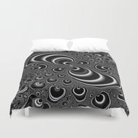 infinity Duvet Covers featuring Infinity by Christy Leigh