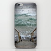 maine iPhone & iPod Skins featuring Maine I by Pistache and Rose