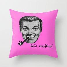 sub genius Throw Pillow