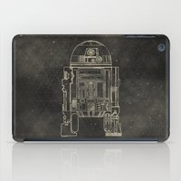 r2d2 iPad Cases featuring R2D2 by LindseyCowley