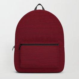 Dark Burgundy Red Brush Texture Backpack