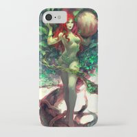 poison ivy iPhone & iPod Cases featuring Poison Ivy by Hai-ning