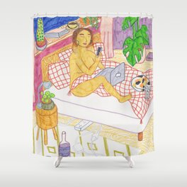 Witching Hour Shower Curtain