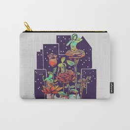 City of Flower Carry-All Pouch