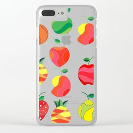 Fruit extravaganza Clear iPhone Case