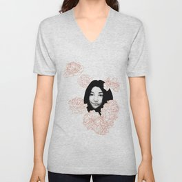 Imagine Yoko Unisex V-Neck