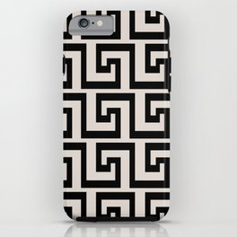 Greek Key iPhone Case