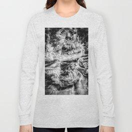 The Wiz - Black & White Long Sleeve T-shirt
