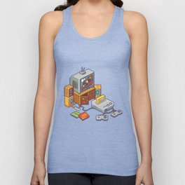 Retro gaming console Unisex Tank Top