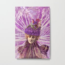 Forest Fairy Princess Metal Print
