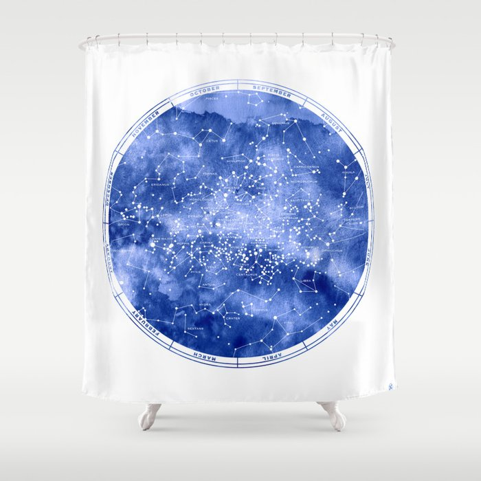 Southern Stars Shower Curtain