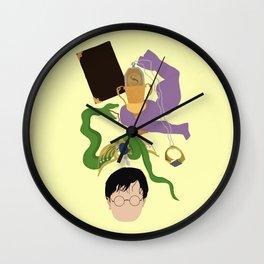 horcruxes Wall Clock