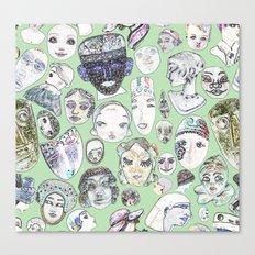 Unfamiliar Faces Canvas Print