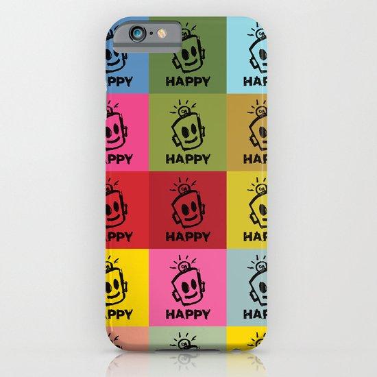 HAPPY SQUARES iPhone & iPod Case