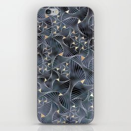 Reverie (in Grey and Gold) iPhone Skin
