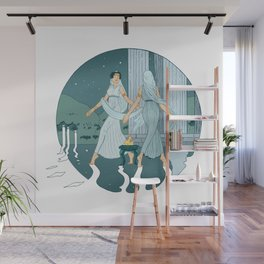 Dance at midnight Wall Mural