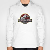 jurassic park Hoodies featuring JURASSIC PARK by BeautyArtGalery