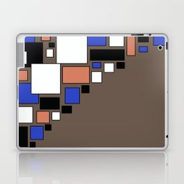 Colorful combined pattern 5. brown Laptop & iPad Skin