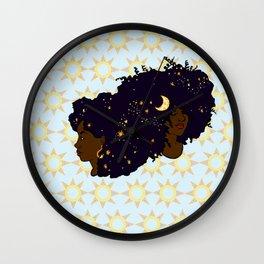 Sun Sisters 02 Wall Clock