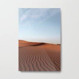 Fine Desert Structures Photo | Sahara Desert Morocco Art Print | Landscape Nature Travel Photography Metal Print