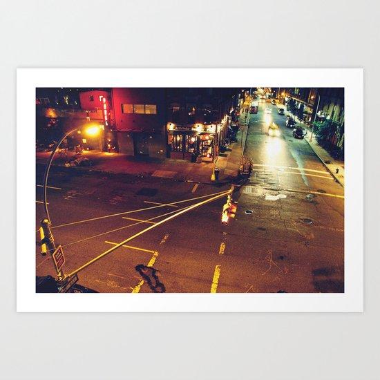 Midnight Marauder Art Print
