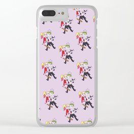 suicide squad - theme Clear iPhone Case