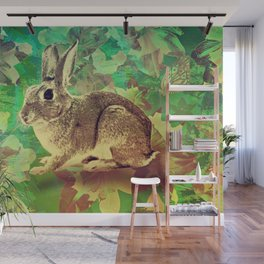 Easter Bunny Wall Mural