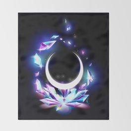 Dark Moon Ginzuishou Throw Blanket