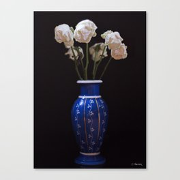 Withered Love Canvas Print